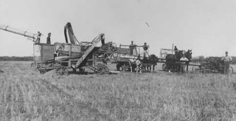history-threshing